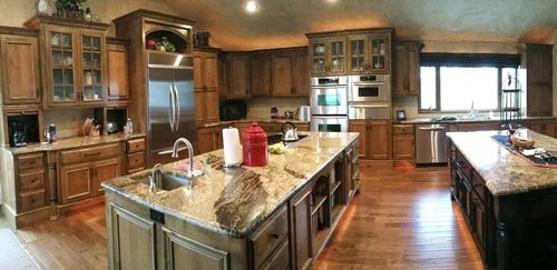 Cabinet Refinishing Center Kitchen